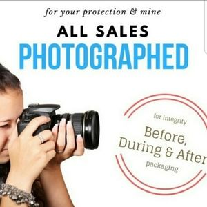 All sales are photographed